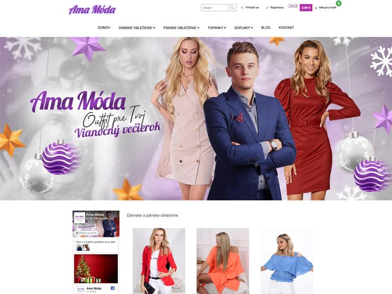 e-shop Ama móda